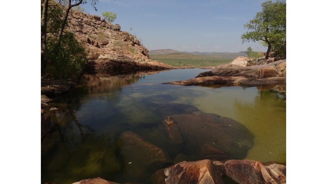 Australie Gunlom Haut de la cascade1.JP