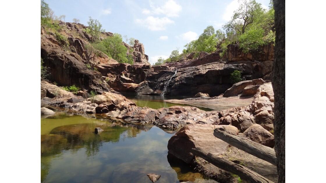 Australie Gunlom Haut de la cascade3.JP