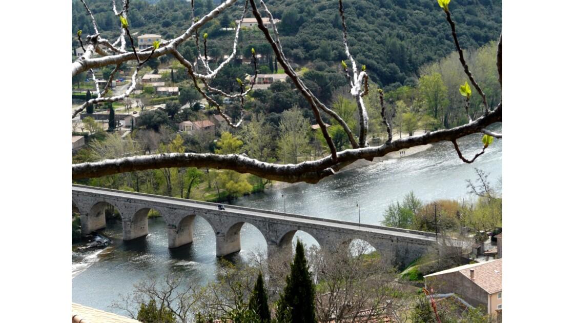 l'Orb du jardin  de Roquebrun