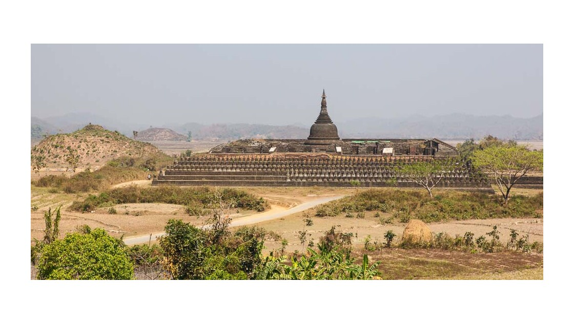 Mrauk U, la pagode Koethaung