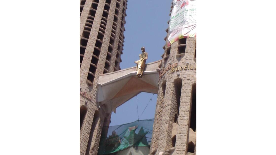 Barcelonne -Cathedrale de Gaudi