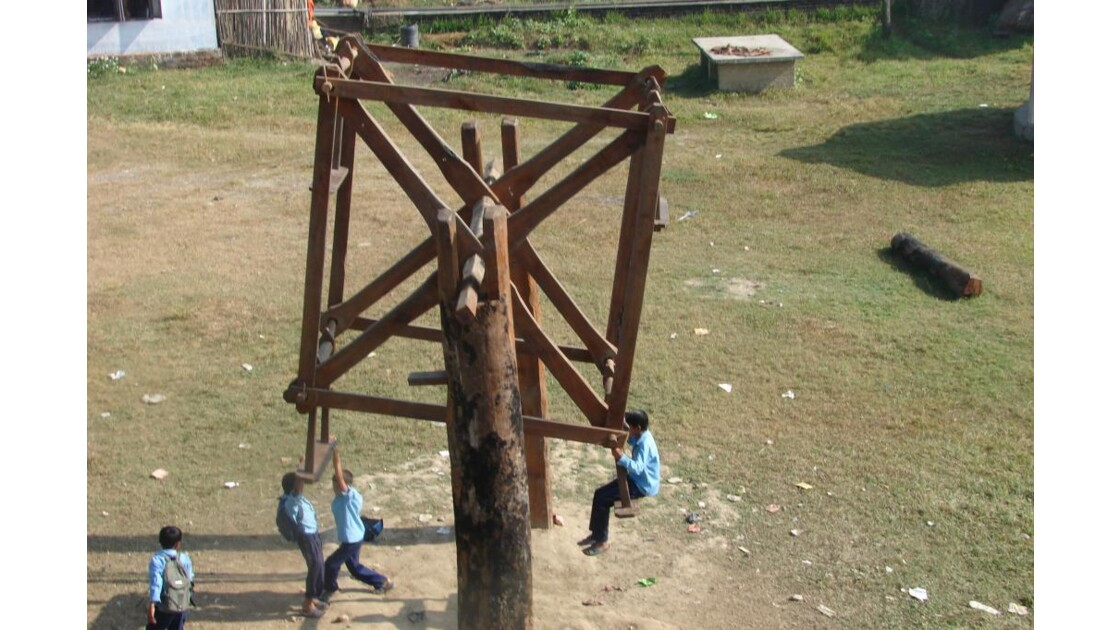 balançoire népalaise