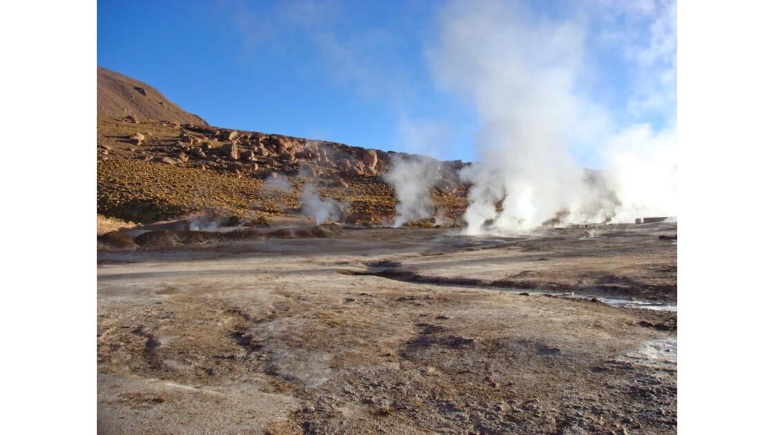 Fin de l'activité géothermique
