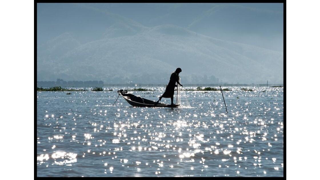 Pêcheur sur le lac Inlé