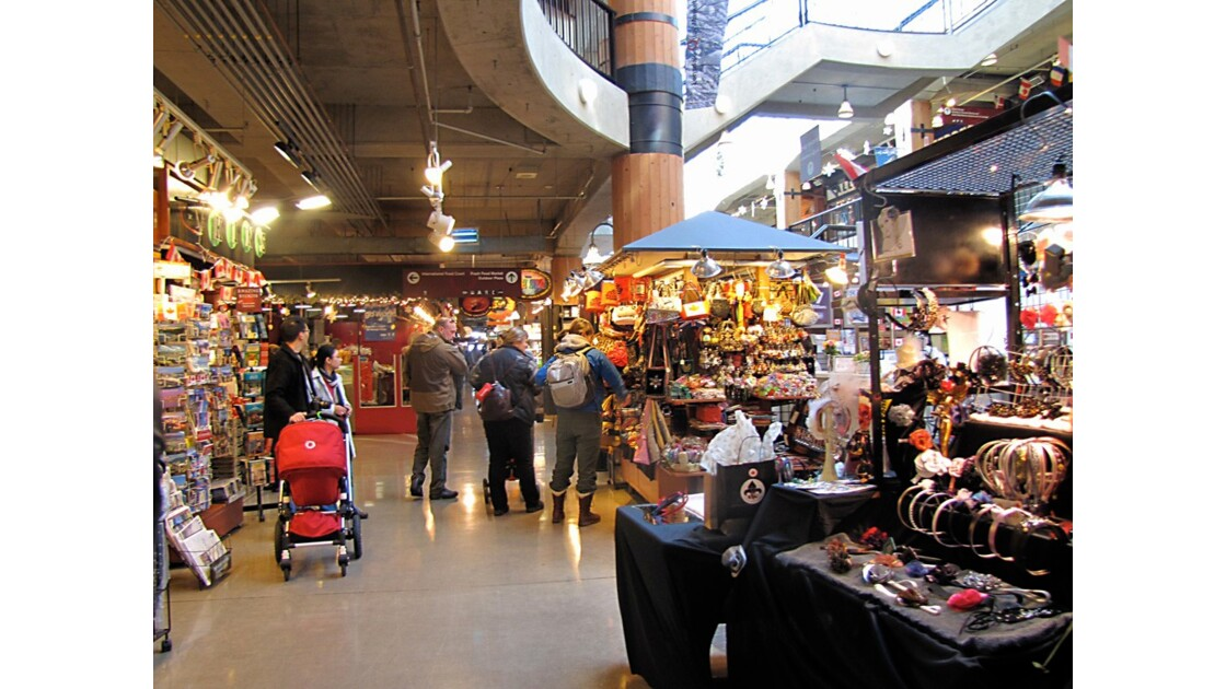 Centre d'achats a Nord Vancouver