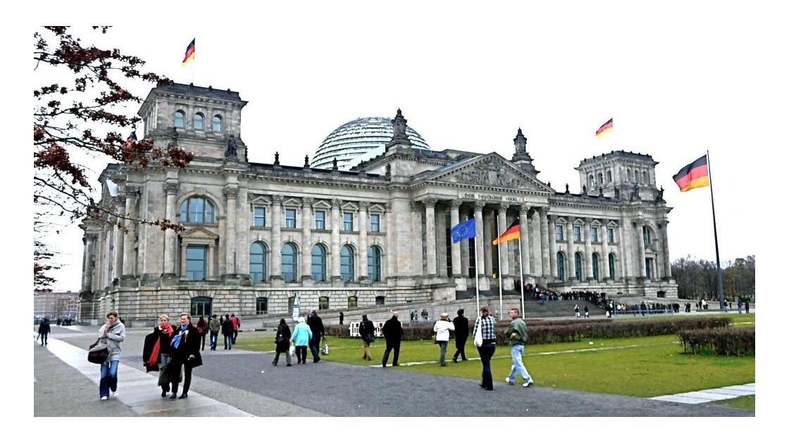 Reichstag - Tiergarten