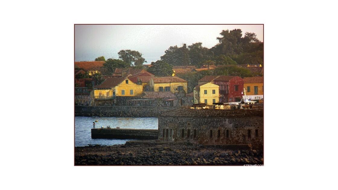 Ile de Gorée-version gauffré