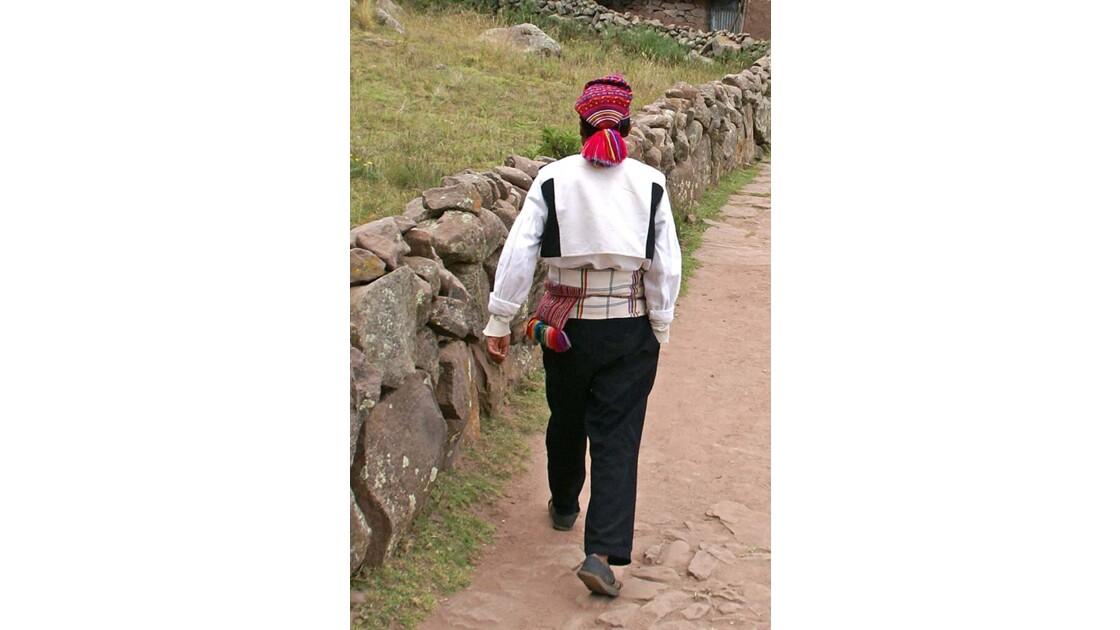 Titicaca Jeune homme à Taquile