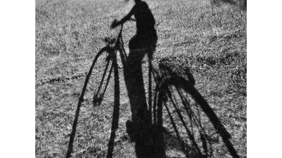 A bicyclette ......