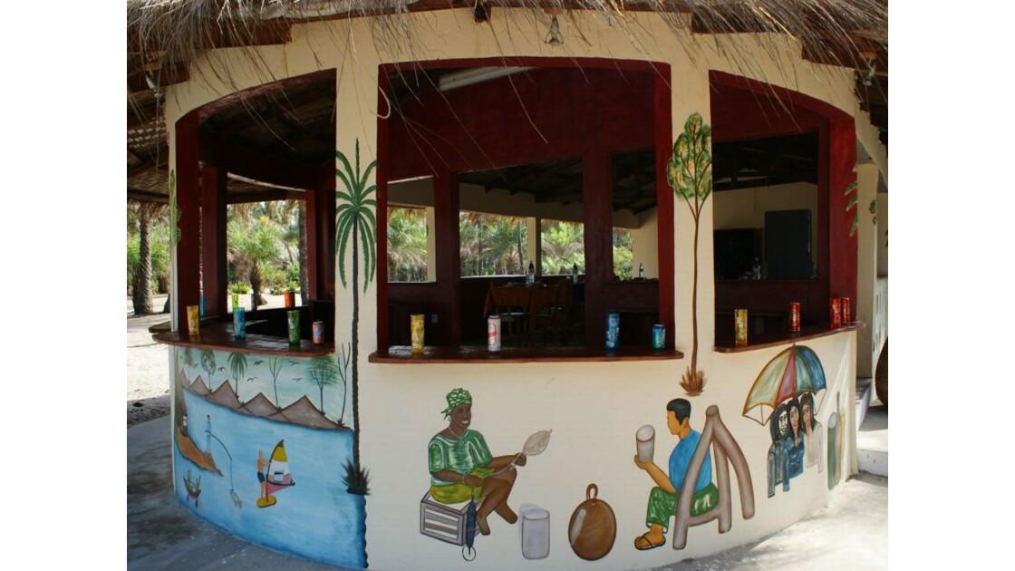 Bar, restaurant, vue sur l'Océan