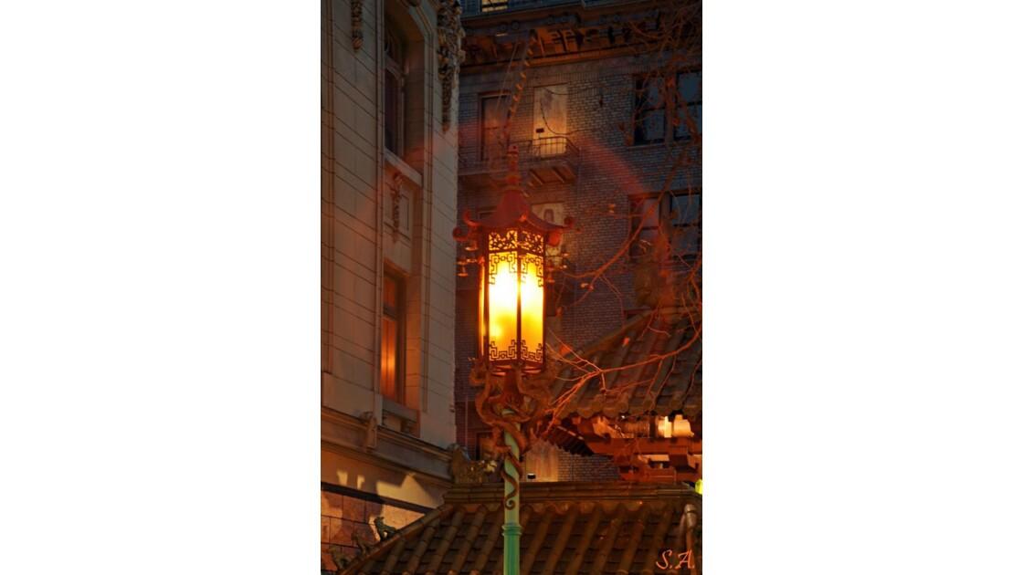 Un lampadaire