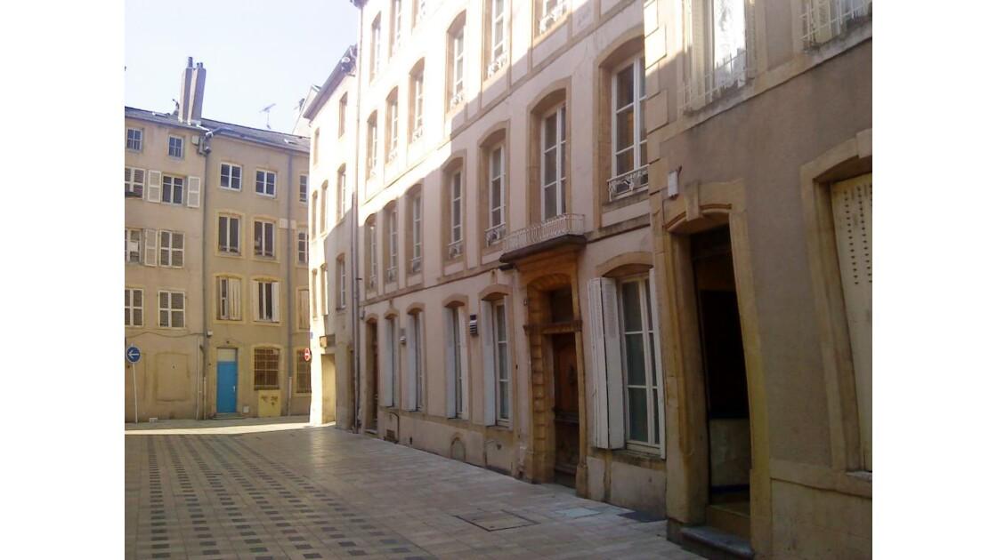 vielle rue de THIONVILLE