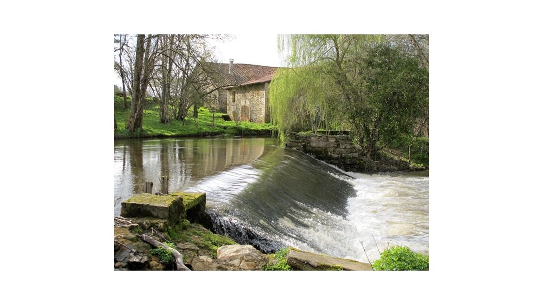 Moulin sur le Bandiat
