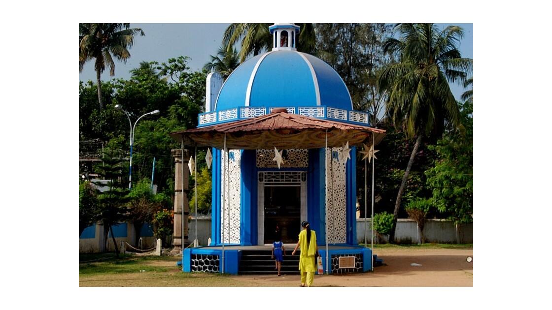 Edifice catholique dans le Kerala