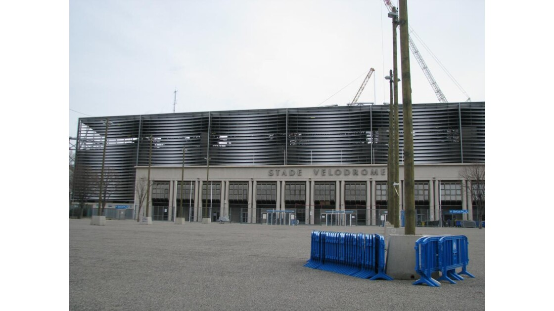 Entrée du stade Vélodrome