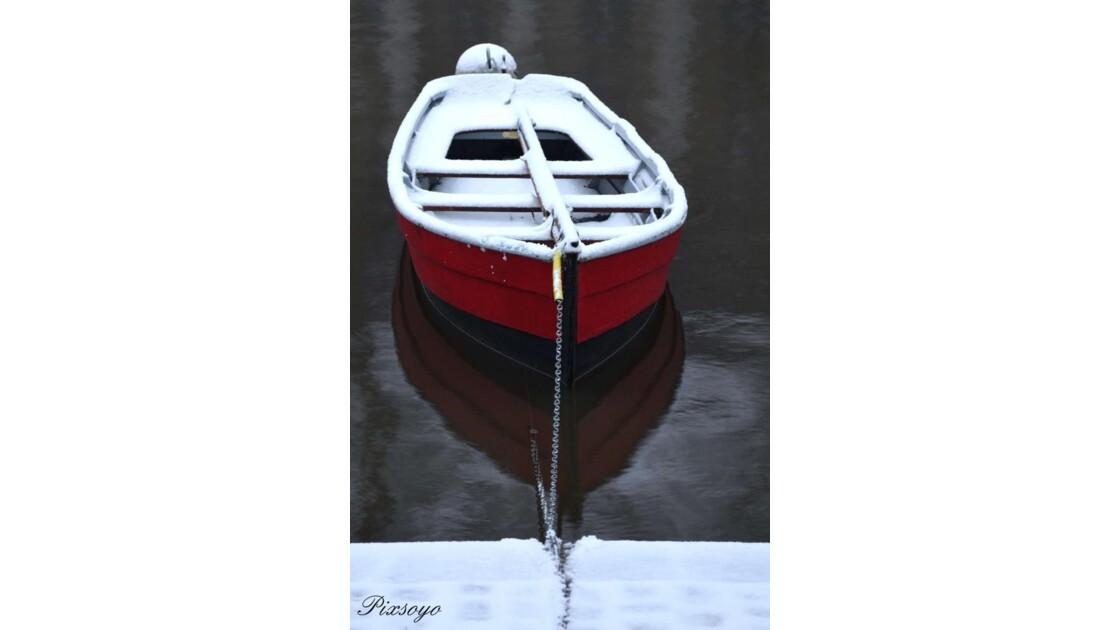 Barque rouge Erdre