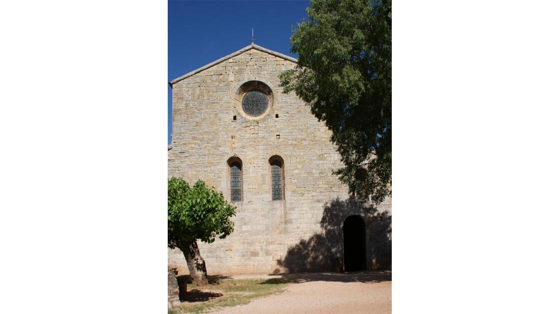 Le Thoronet: Facade Église