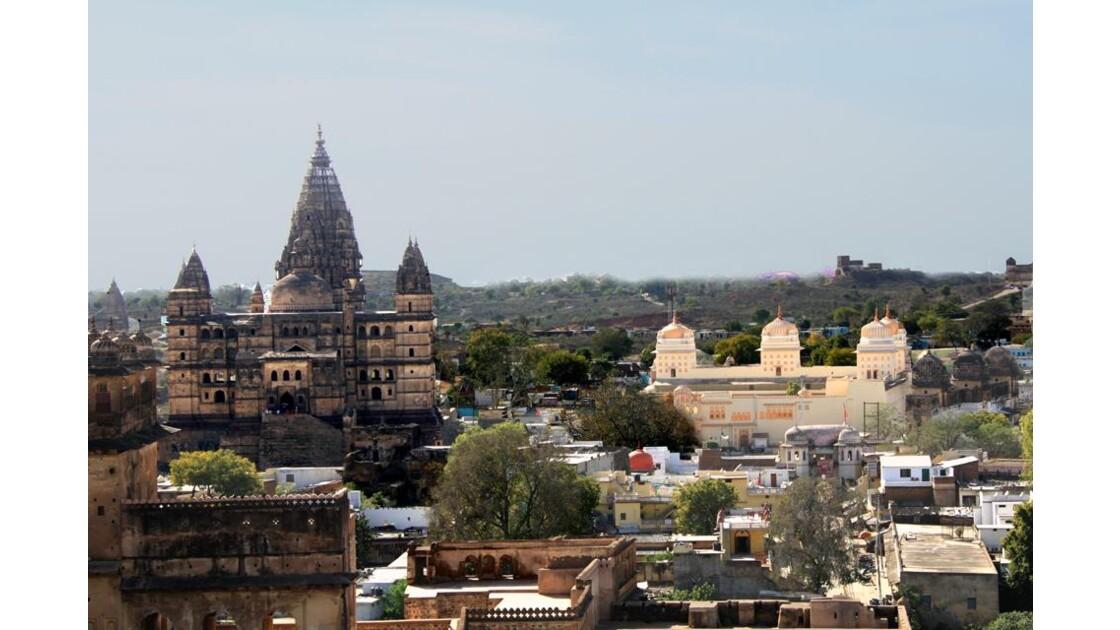 Temples de Chaturbhuj & de Rama Raja