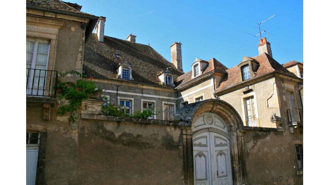 Semur-en-Auxois: hôtel particulier