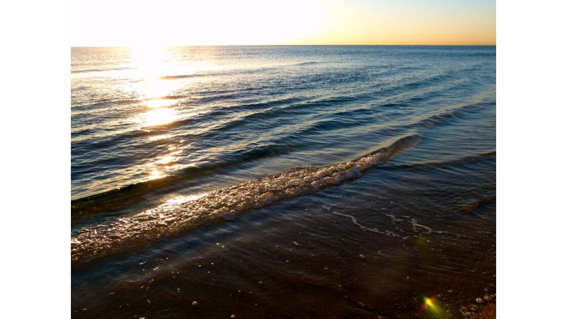 Ambiance du petit matin sur la plage