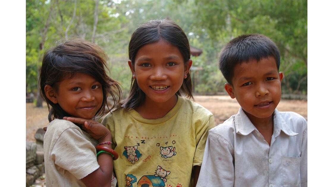 Sourires cambodgiens