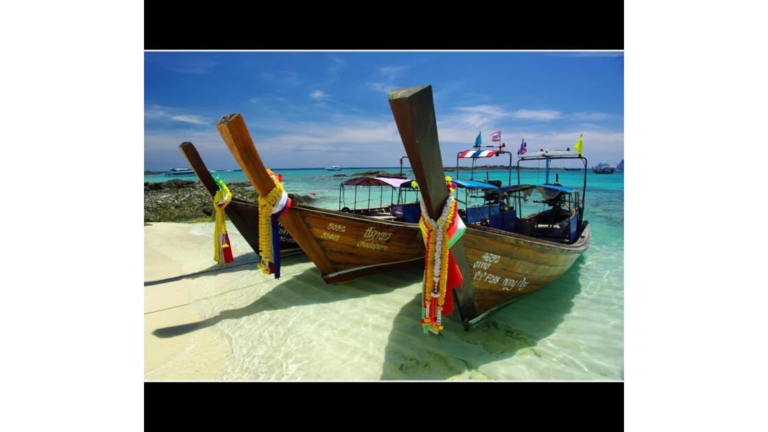 Long tail boat - Ko Phi Phi