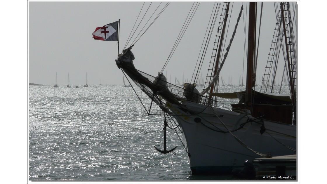 La belle Poule à la Trinité sur Mer