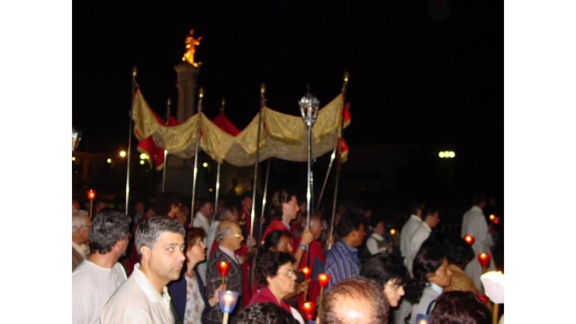 Procession pour Fatima