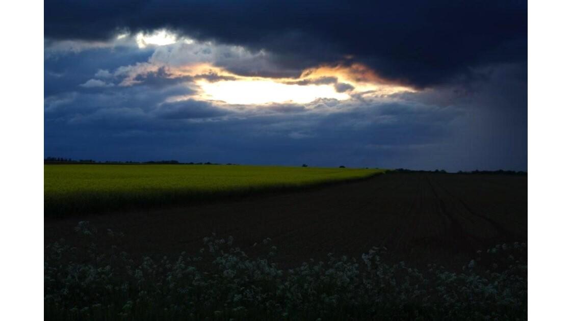 ciel du soir (2 mai).