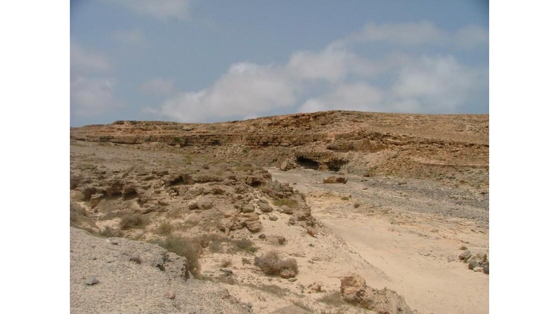 un peu de relief dans le désert