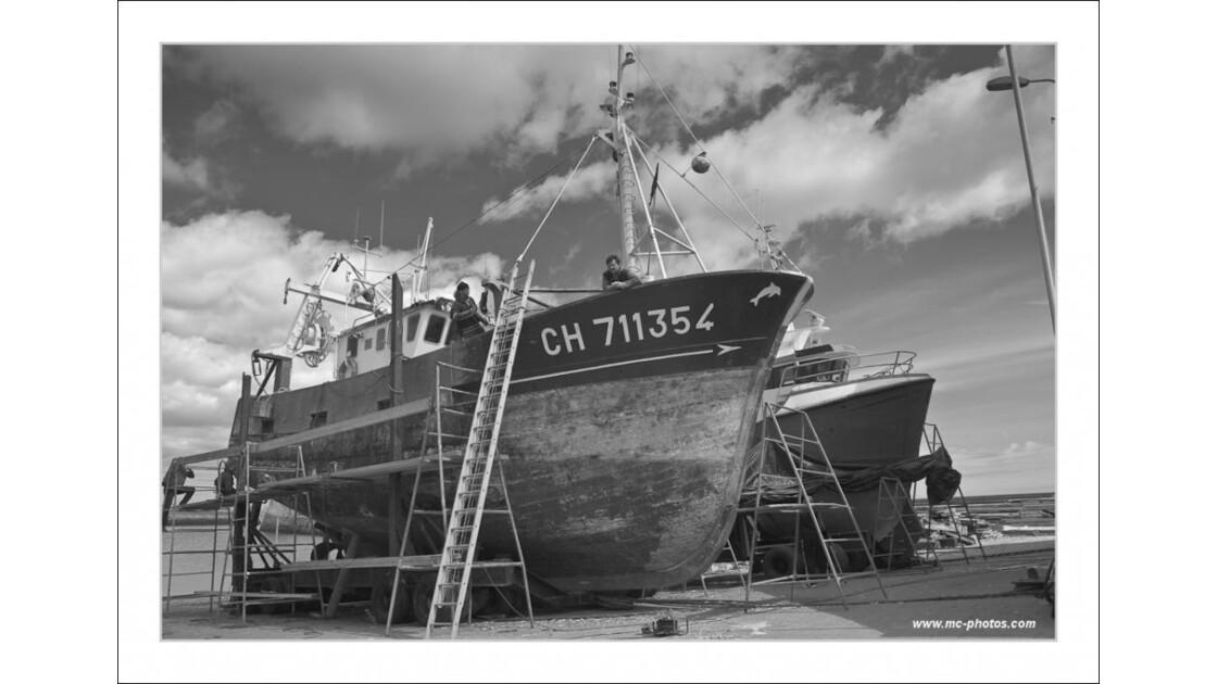 Chantier Naval - St Vaast -la-Hougue