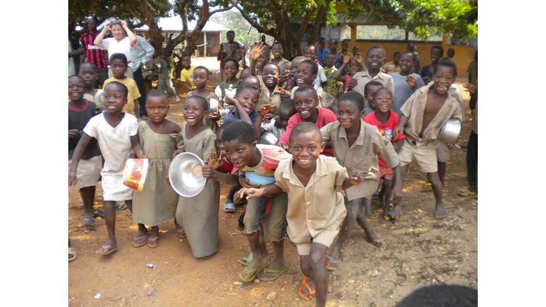 Enfants de Badou