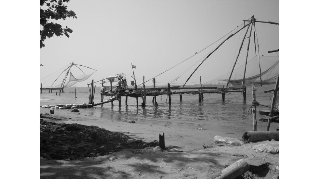 les carrelets de pêche chinois