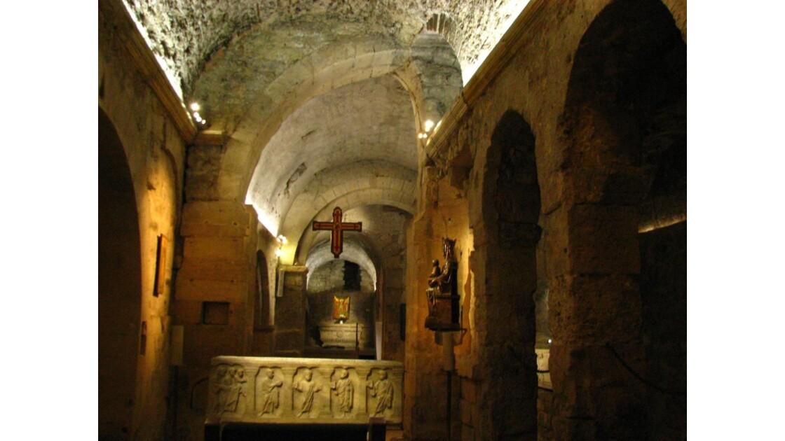 Crypte de st Victor