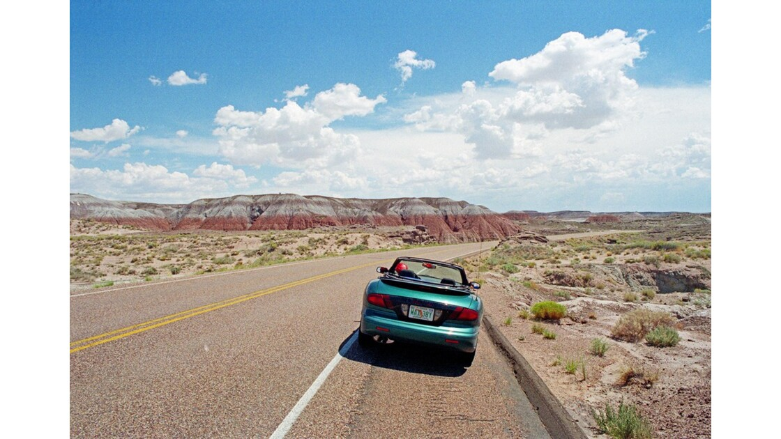 Route 66 Painted Desert