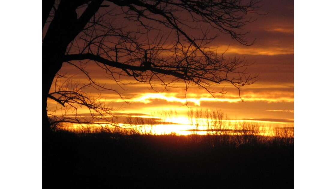 dernier lever de soleil 2013 à Carvin