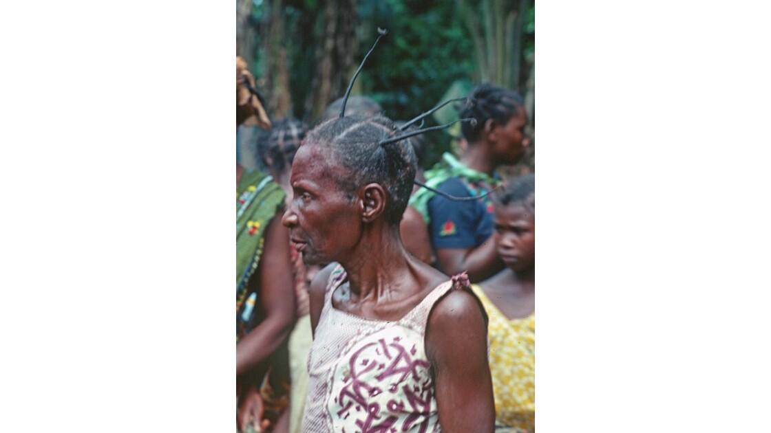 Congo Dans un village du centre