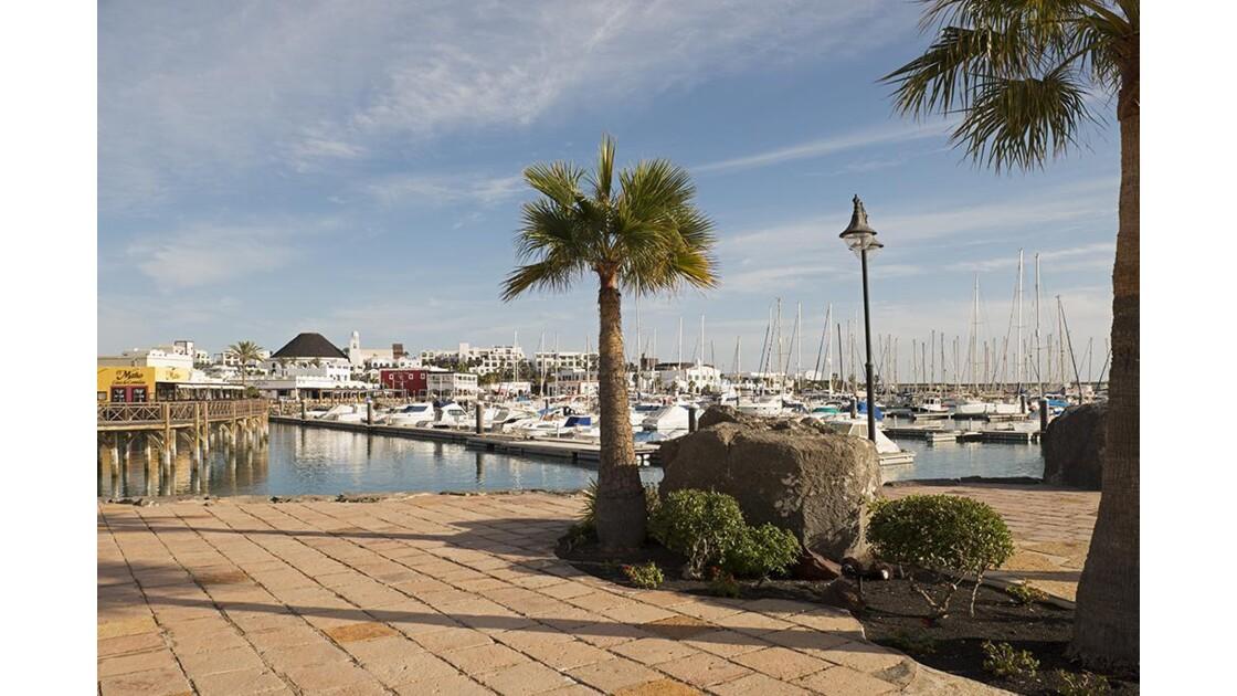 Playa Blanca - Le port
