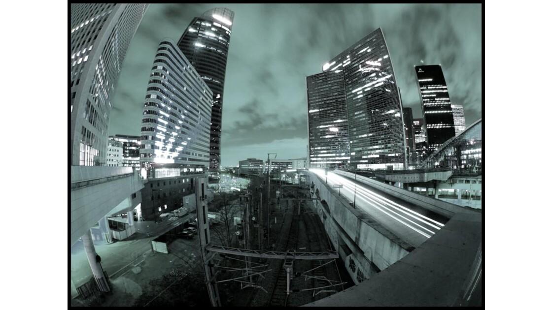 La Défense by night 1