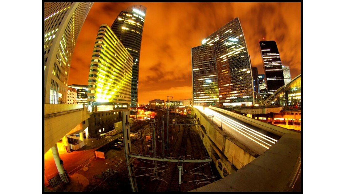 La Défense by night 4
