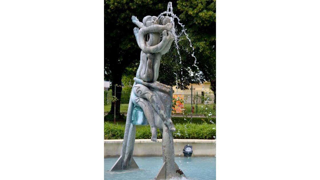 Statue de la Maison de l'eau