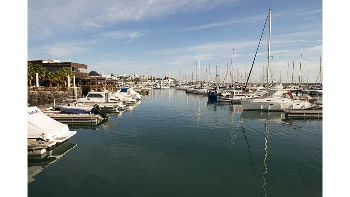 Petits bateaux - Playa Blanca
