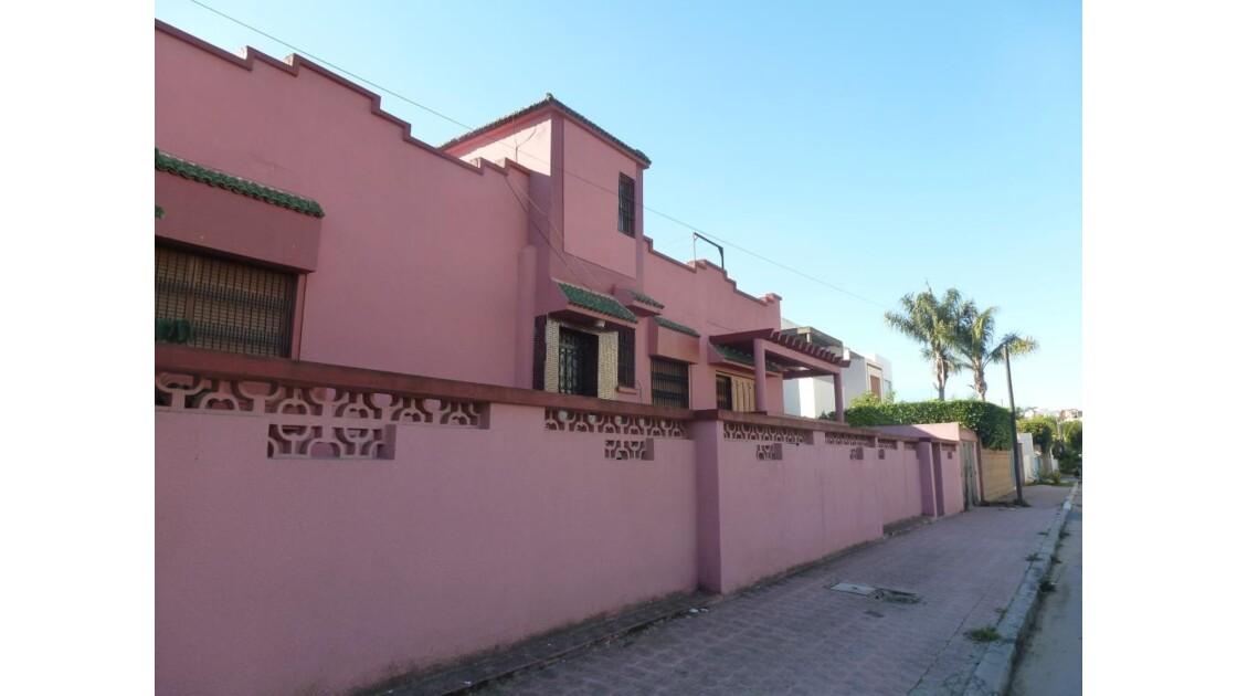 Villa rose......