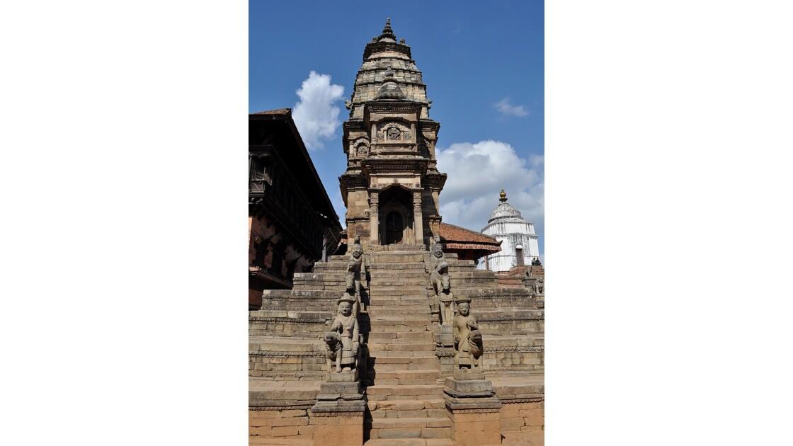 le temple Siddhi Laxmi à Durbar square