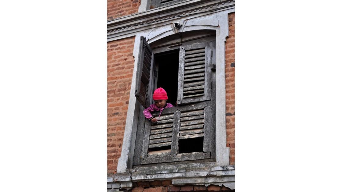 l'enfant au bonnet rose