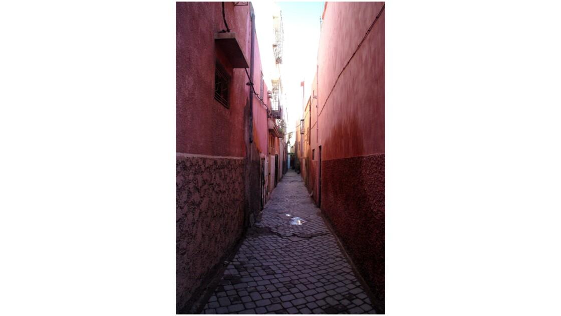 Dans les  ruelles de la kasbah