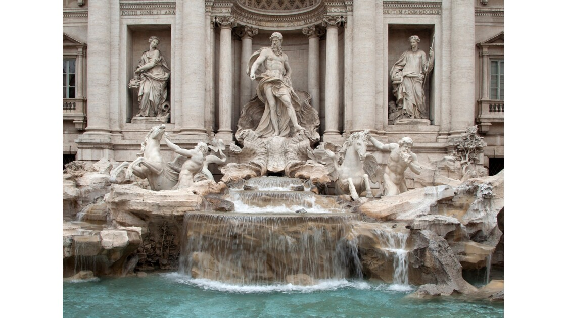Rome, la Fontaine de Trev