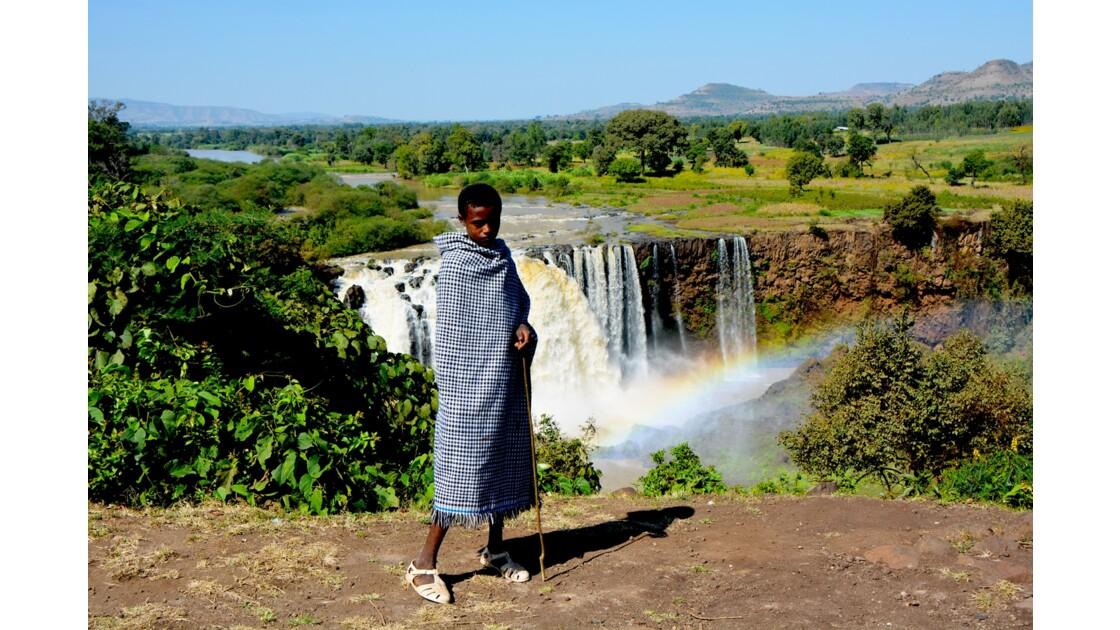 jeune berger ethiopien
