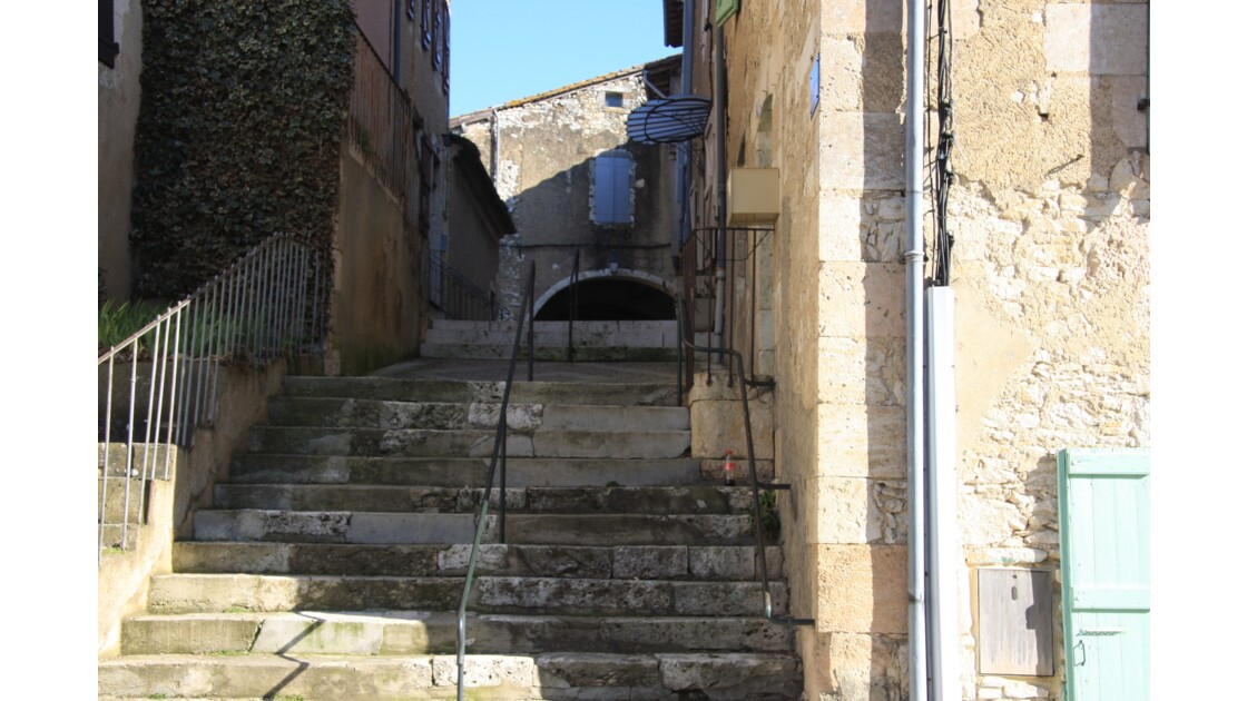 Escalier de Mauvezin