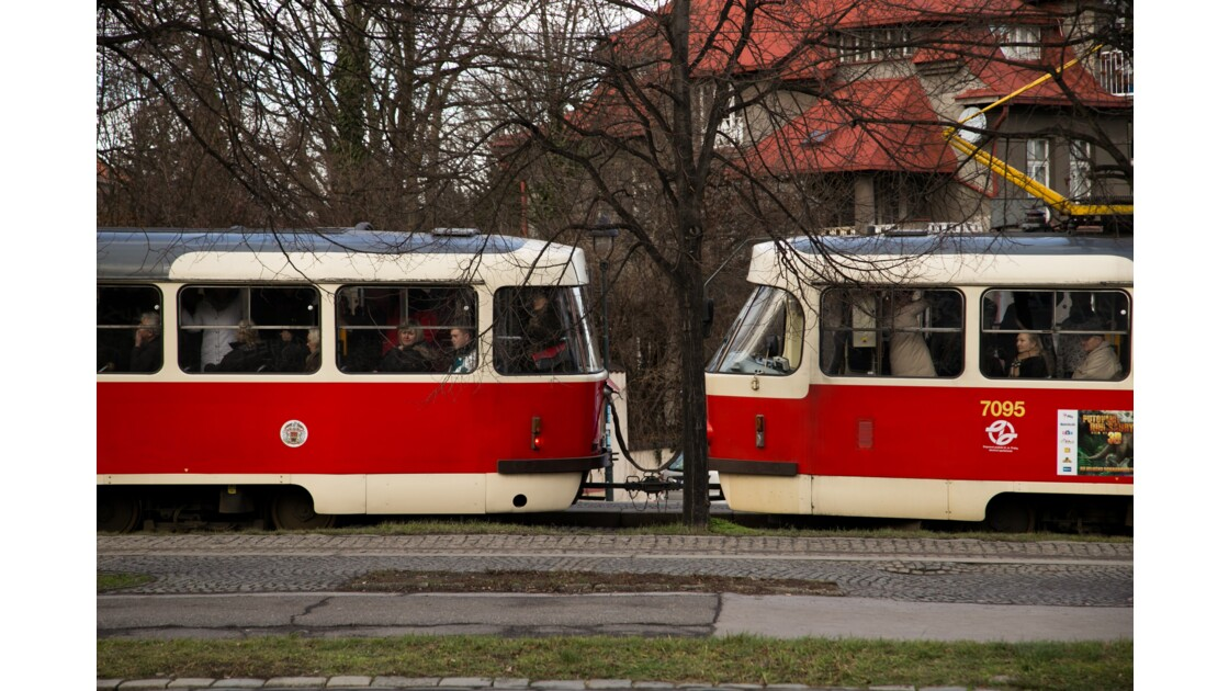 Les tramway à l'ancienne
